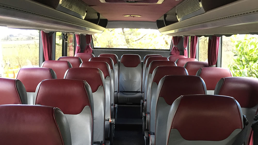 25 Seater Coach Hire